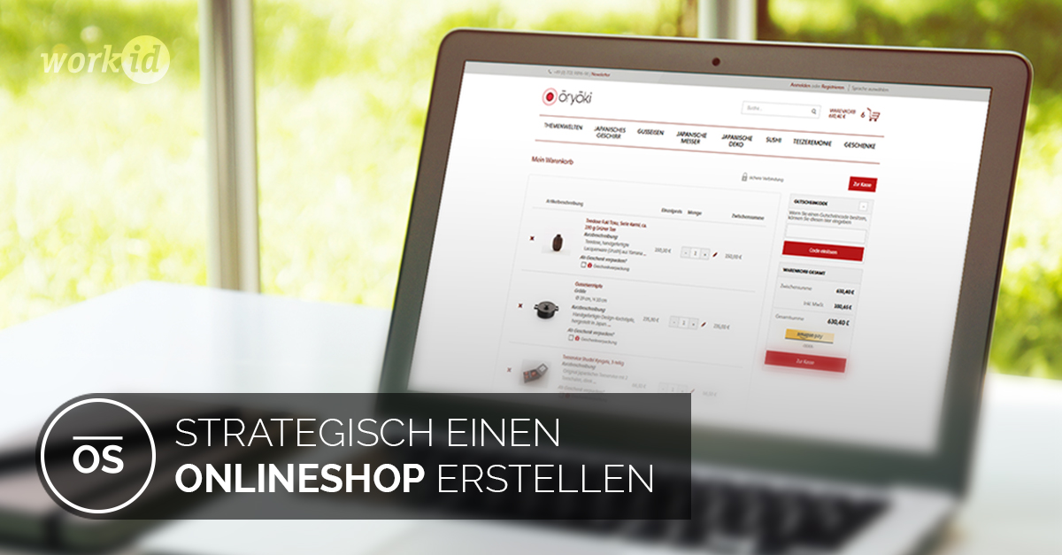 Onlineshop Erstellen E Commerce Agentur Workid